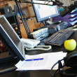 micro de station de radio — Photo