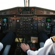 Airplane cockpit - Foto de Stock  