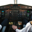 Stock Photo: Airplane cockpit