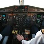 Airplane cockpit — Stock Photo #1674659