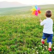 enfant heureux s'amuser en plein air — Photo