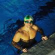 Swimmer - Stock Photo