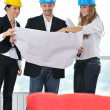 Young architect team — Stock Photo #1676395