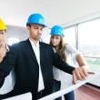 Young architect team — Stock Photo #1676403