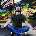 Постер, плакат: Urban yoga