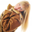 Woman winter coat — Stock Photo #1678790