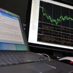 Stock graph — Stock Photo