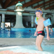 Swimming pool fun — Photo