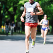 Royalty-Free Stock Photo: Marathon man run