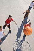 Straat basketbal — Stockfoto