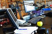 Радио staiton — Стоковое фото