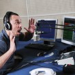 Stock Photo: Radio dj