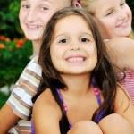 Happy kids outdoor — Stock Photo #1680474