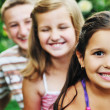 Happy kids outdoor — Stock Photo #1680484