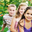 Happy kids outdoor — Stock Photo #1680497