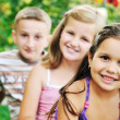 Happy kids outdoor — Stock Photo #1680525
