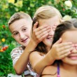 Happy kids outdoor — Stock Photo #1680533
