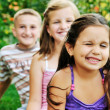 Happy kids outdoor — Stock Photo #1680550