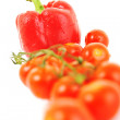 Royalty-Free Stock Photo: Tomato and paprika