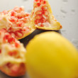 Royalty-Free Stock Photo: Pomegranate and lemon