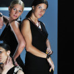 Woman fashion show — Stock Photo #1682603