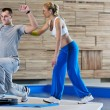 Fitness personal trainer — Stock Photo #1683137