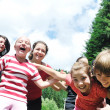 Child group outdoor — Stock Photo #1685554