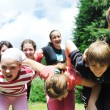 Child group outdoor — Stock Photo #1685566