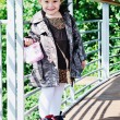 Children fashion outdoor — 图库照片