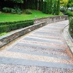 Stone path patternt — Stock Photo #1687211