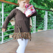 Children fashion outdoor — Stock fotografie