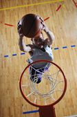 Basketball competition ;) — Stockfoto