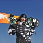 Snowboarder portrait — Stock Photo #2237694