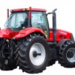 Stock Photo: New red tractor