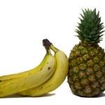 Bananas and pineapple — Stock Photo #1694970