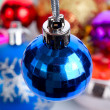 Stock Photo: Blue small fir ball
