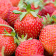 Close-up strawberries - Foto de Stock  