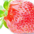 Close-up strawberry — Stock Photo