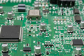 Close-up circuit board — Stock Photo