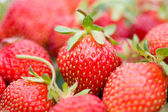Strawberries with shalow depth of view — Stock Photo