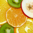 Fruits background 3 — Stock Photo