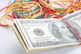 Concept last money in desk — Stock Photo