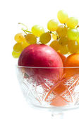 Fruits in bowl — Stock Photo
