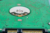 Hard drive circuit board — Stock Photo