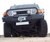 Carro off-road — Foto Stock