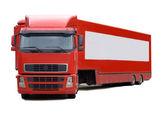 Camión rojo — Foto de Stock
