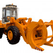 Stock Photo: Tractor for lumber industry