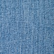 Blue jeans macro texture — Stock Photo
