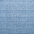 Stock Photo: Blue jeans textile macro