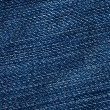 Stock Photo: Blue jeans texture